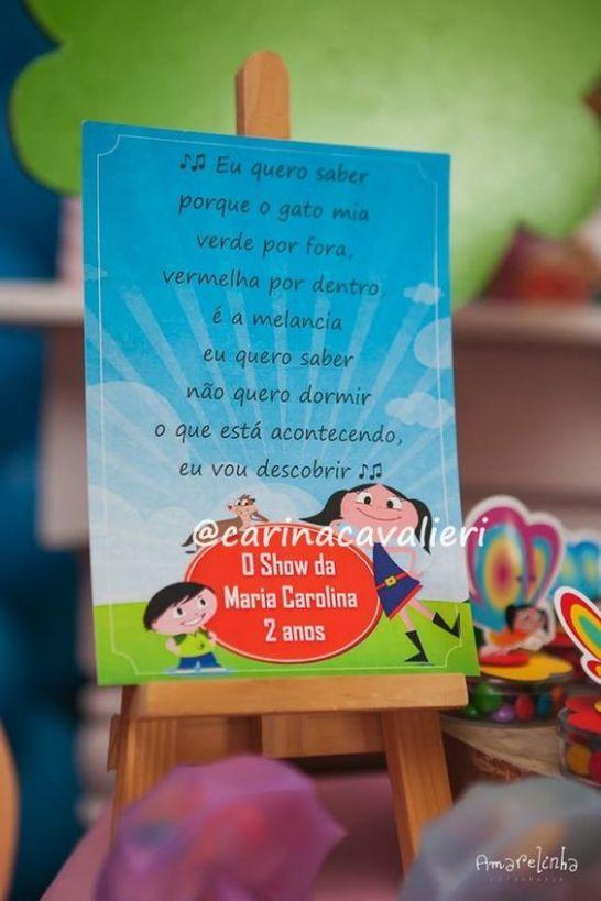 """Aqui em casa somos fãs e a música do Show da Luna não sai da cabeça. Acredito que ela seja a nova """"Galinha Pintadinha"""" e ao ganhar esse destaque, merece ..."""