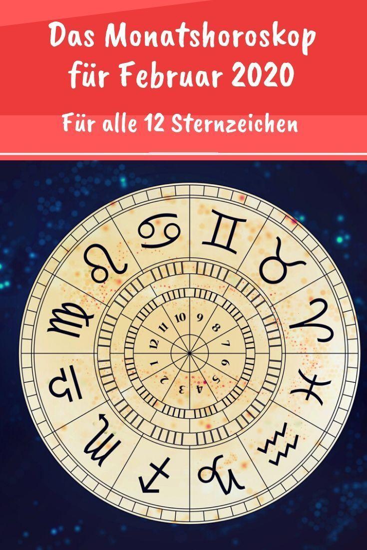 Monatshoroskop Fur Februar 2020 Monatshoroskop Horoskop Und