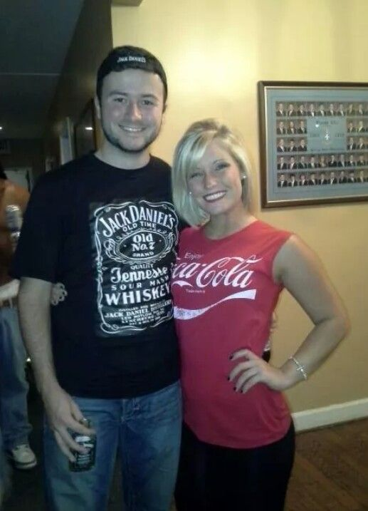 Jack and Coke for a cheap couples halloween costume!! #halloween #couple