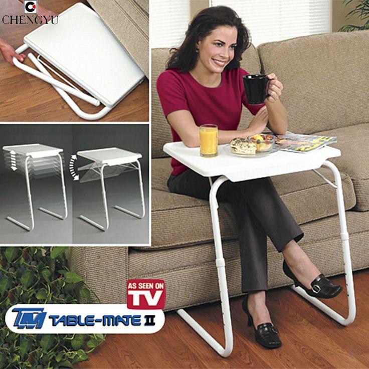 Table Mate 2 TV Product Table Notebook Computer Desk/Learning Computer Desk Laptop Desk Multifunctional Folding Adjustable Table