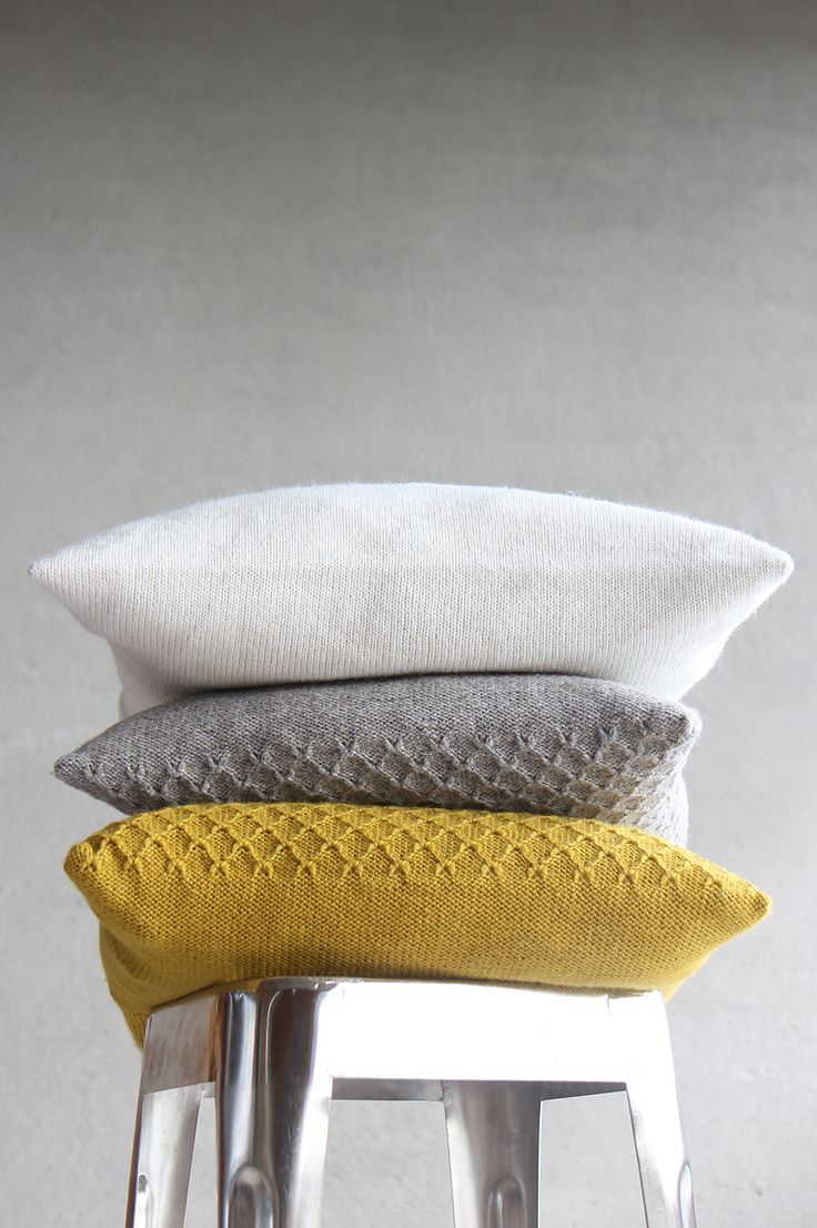 cushions in autumn colours