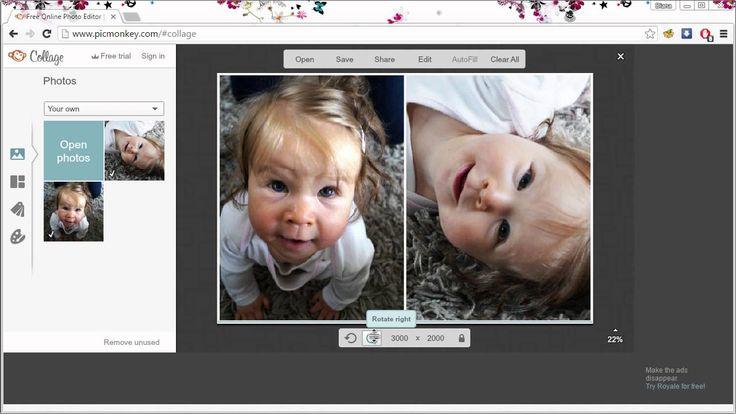 VIDEONÁVOD: Jak na fotky 3x4 v PicMonkey