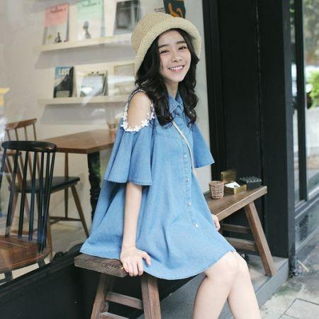 Style : Mode Japonaise et CoréenneSaison : Printemps - Été 2015Matière : Polyester + CotonOrigine : Made in China Guide des tailles asiatiques