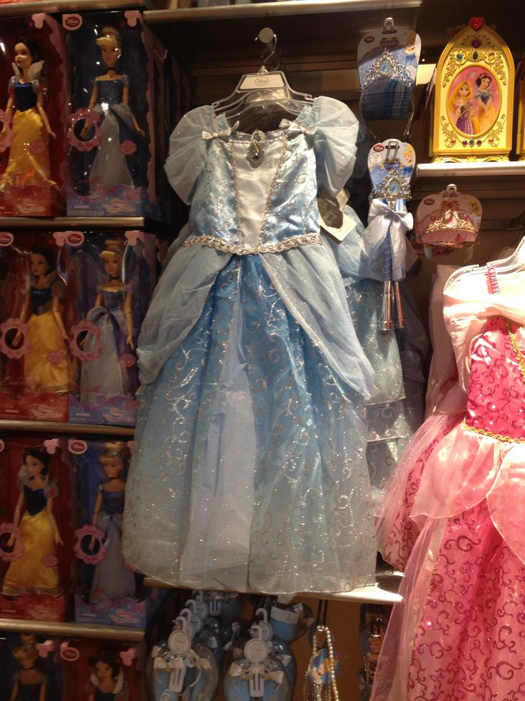 Cinderella dress from Disney Store | Princess Cinderella ...