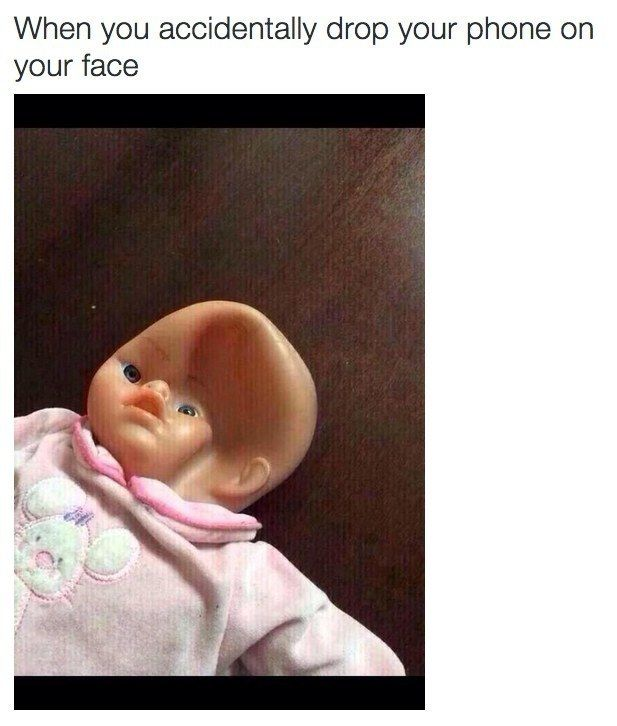 And the year you broke your face: | 28 Memes That Pretty Much Sum Up Life In 2015