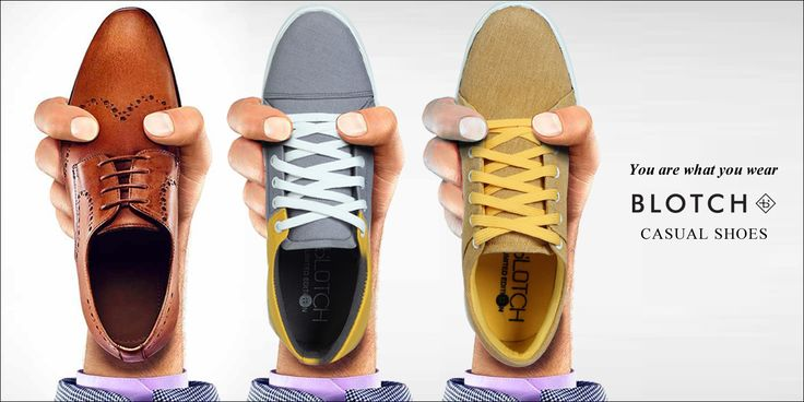 You are what you wear!  Shop now: http://blotchwear.com/collections/casual-shoes