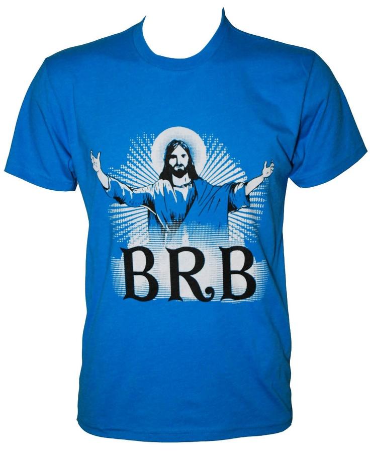 Funny Christian shirts. $12.95, via Etsy.