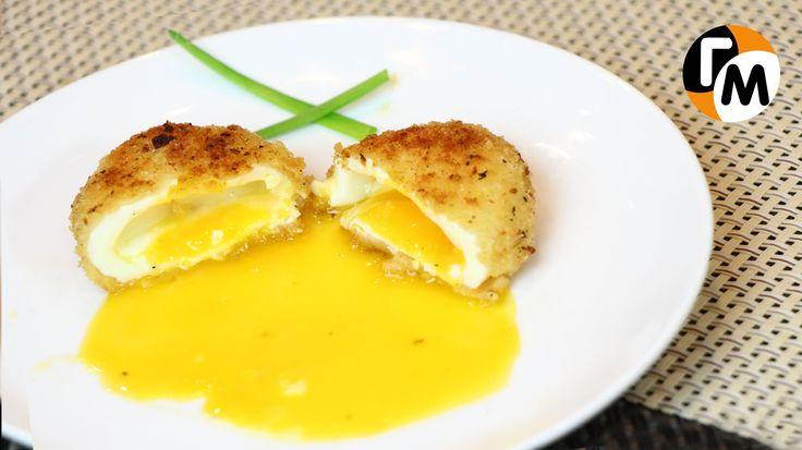 Τηγανητά αυγά ποσέ Συνταγή   Πώς να κάνει Fried αυγά ποσέ (Eng Sub)