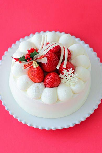 「ホワイトクリスマスケーキ」あいりおー | お菓子・パンのレシピや作り方【corecle*コレクル】