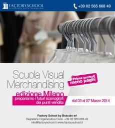 Corso master Visual Merchandising   Milano Non perderti questa straordinaria esperienza formativa.  Prenota ora la tua formazione d'eccellenza e puoi fruire della quota agevolata..