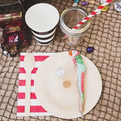 pirate party - tableware - party box | photo by sophie jacobson/love bucket photo  sc 1 st  Pinterest & 11 best Fire and creme kids - pirates of venice - party box images ...