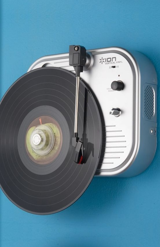 The Vertical Turntable // want! #product_design