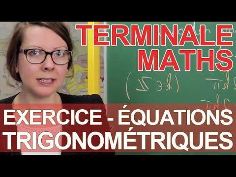 Inéquations trigonométriques - Exercice - Maths terminale - Les Bons Profs