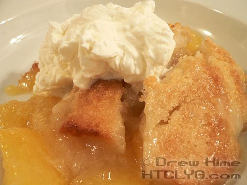 Peach Cobbler | How To Cook Like Your Grandmother:  I made peach cobbler! By mys…