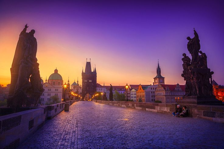 sunrise in prague... contact for prints: roblfc1892@gmail.com All images are © copyright roblfc1892 - roberto pavic. You may NOT use, replicate, manipulate, or modify this image. r...