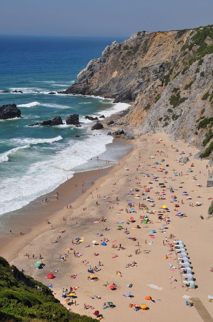 sintra portugal | File:Portugal 2, Praia da Adraga at Almoçageme (Sintra municipality ...