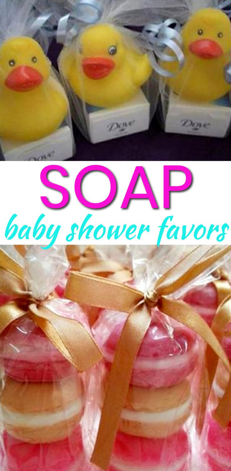 Baby Shower Favor Ideas! The best soap baby shower favors! Amazing boys baby shower favors as well as the coolest girls baby shower favors. Find gender neutral ideas for your guests at your soap theme baby shower. From DIY ideas to candles to soap to lotion to candy that are cheap, unique and classy. Find the best baby shower favor ideas now!