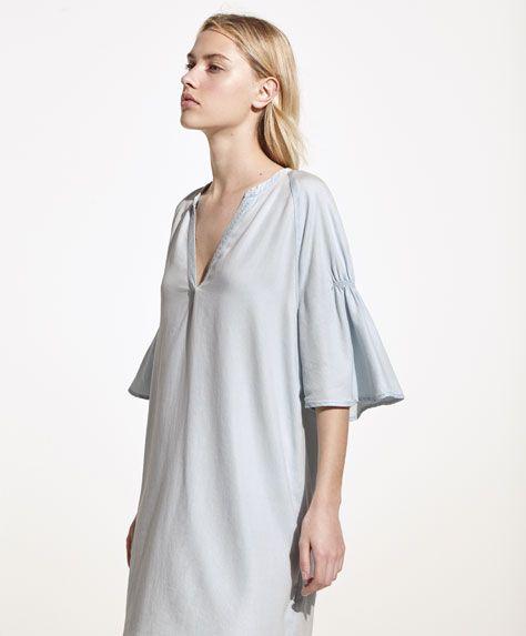 Oysho - Denim dress