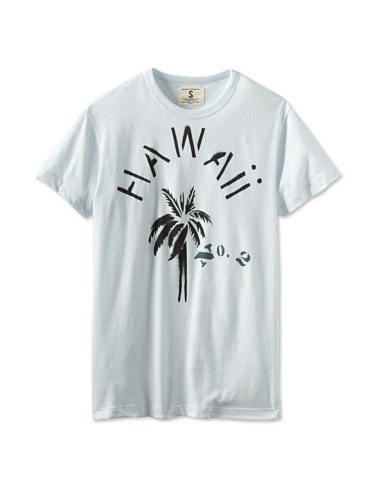37% OFF Tailgate Clothing Company Men's Hawaii Tee Shirt (Ice)