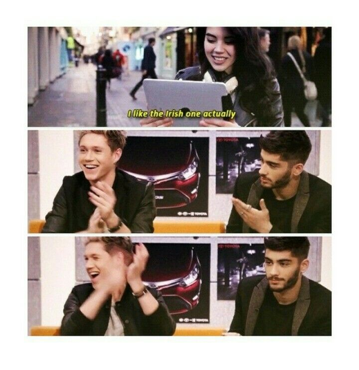 ZAYN'S REACTION COMPARED TO NIALLS. I CAN'T
