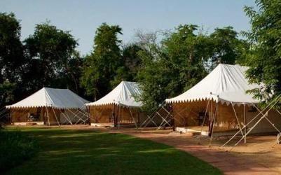 Tents at Sherbagh Resort,  Rajasthan, India