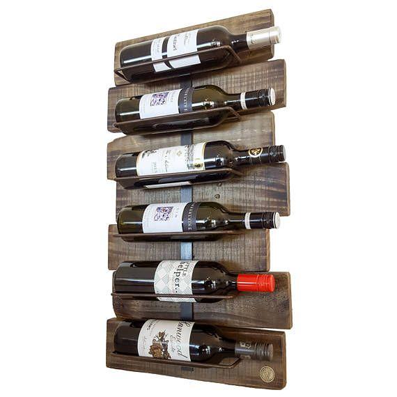 Madera de plataforma estante del vino  refinado de la
