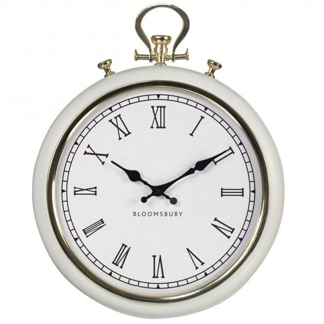 Pocket Style Wall Clock Silver Wall Clock Clock Clocks For Sale