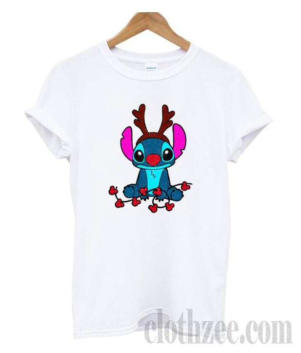 3aea55fb6c84c Reindeer Stitch Merry Christmas T-shirt  trendingclothes  tees  clothes   comfortclothes  shirt  hoodie  sweatshirt  tanktop  unisextees  clothes   fashion ...
