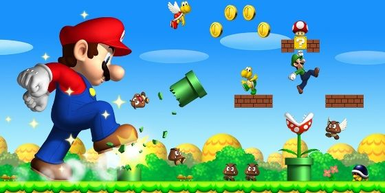I love Mario and Luigi a lot. I found this picture as a necessity.