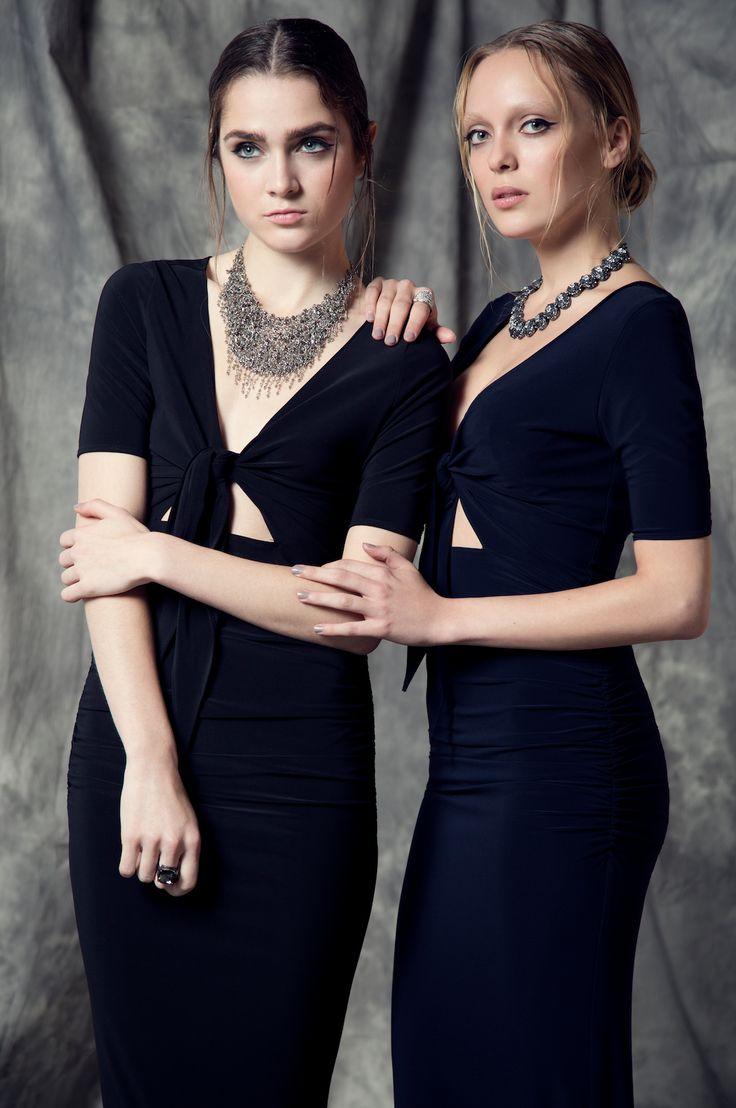 Front-Tie Dresses - arti gogna Summer 2015 Collection - www.artigogna.com