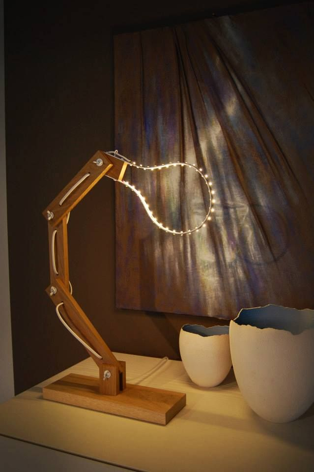 We Love This Creative Led Lighting Idea Perfect Accessory For Desks And Living Rooms Your Home Ledlight Ledlamp Www Ledlux