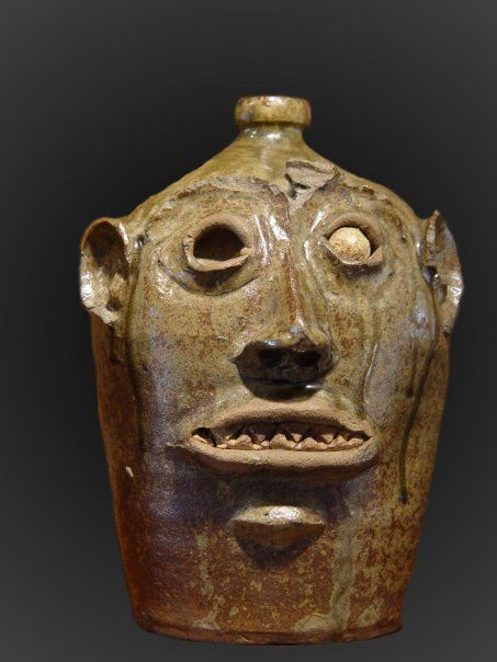 face jugs | to have tomb stones so they developed face jugs as grave markers ...