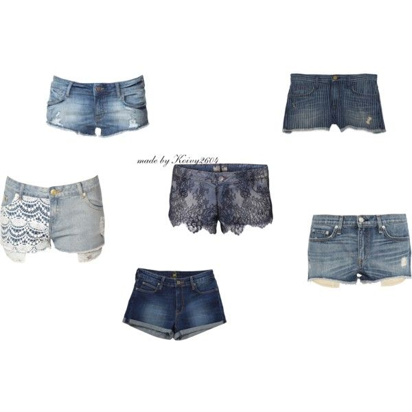 """Shorts Jeans 2014"" by koivy2604 on Polyvore"