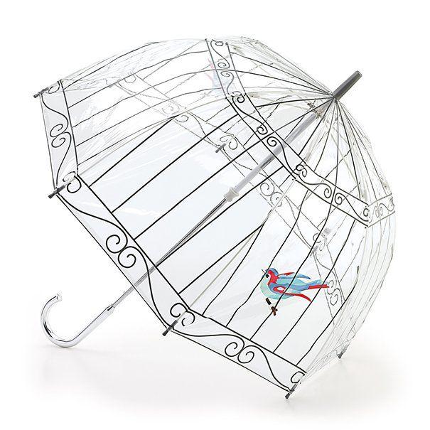 19 parapluies design qui rendent la pluie marrante   19 parapluies design cage oiseau