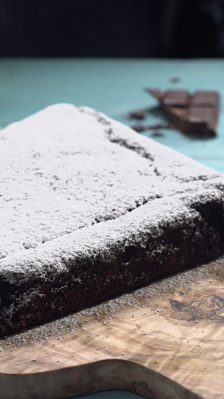 Schokoladenkuchen mit Zucchini   – pâtisserie et petits trucs à grignoter