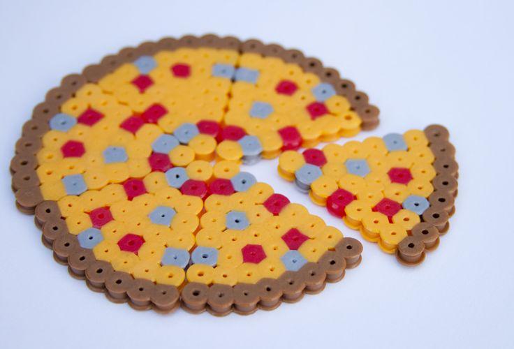 Pizza perler beads by Laura R. - Perler® | Gallery