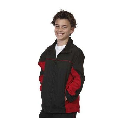 Kiddies Printed Contrast Warm Up Jacket Min 25 - 100% Polyester, Contrast Panel along Sides and Under Sleeves, Contrast Trim on Chest, Lining of Mesh, Zip Collar Down, Elastic Cuffs and Hem, Two Front Side Pockets with Stitched Closure, Satin Backed Microfibre Fabric. http://www.promosxchange.com.au/kiddies-printed-contrast-warm-jacket/p-8731.html