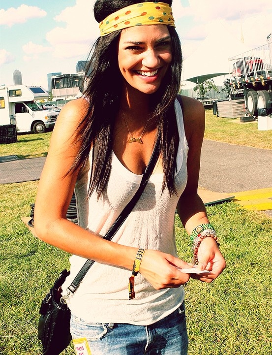 Jessica Szohr will be there with YOU at the Pitchfork music festival!