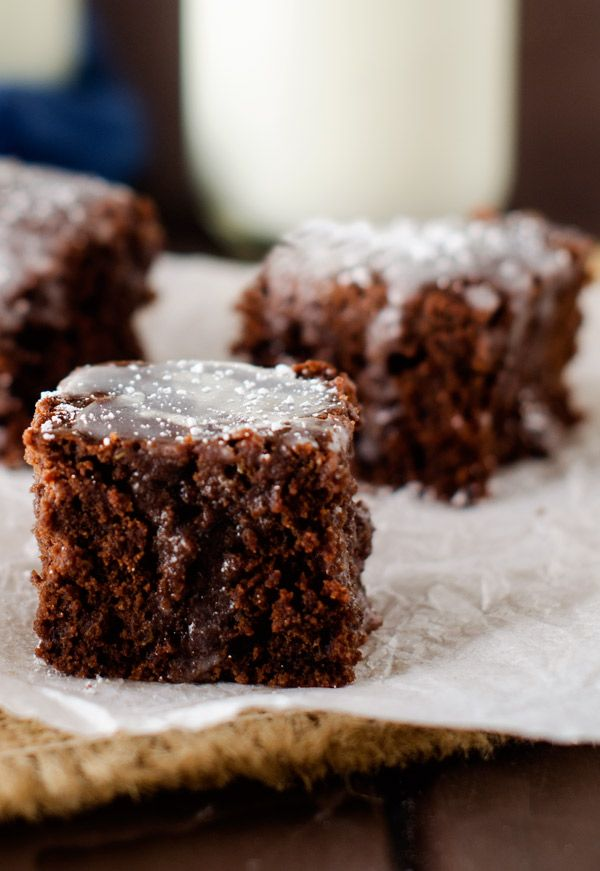 Check out Mint Quinoa Brownies. It's so easy to make ...
