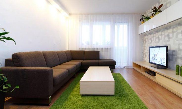 Panellakás felújítás - egy fiatal pár megújult, modern otthona