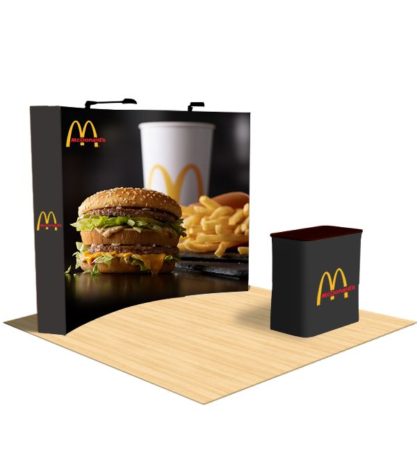 Tent depot offers variety of sizes in Curved pop display you can choose as per your business requirements. These Curved pop up display are extremely light in weight and easy to set up and down. Our Curved pop up display is made up of from highest quality material. Curved pop up display is sure to satisfy all your marketing needs.