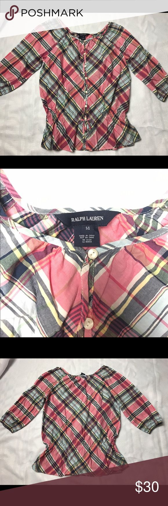 RALPH LAURAN Blouse Gently used RALPH LAURAN Tops Blouses
