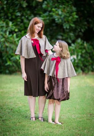 Free Cape Pattern and Tutorial from The Cottage Mama. Learn to sew a versatile cape perfect for girls, boys and adults. www.thecottagemama.com