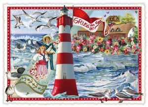 tausendschön postkarten - Gruss von der See