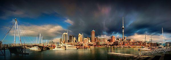 Rain or Shine.  Wynyard Quarter, Auckland, New Zealand.  View my portfolio at www.zarirmadon.com  #cityscape #newzealand