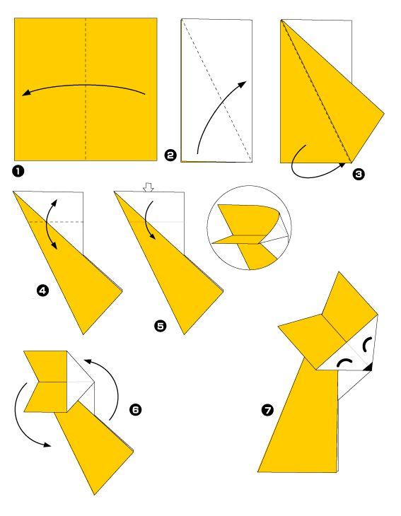 52 besten origami kid bilder auf pinterest origami papier basteln und origami anleitungen. Black Bedroom Furniture Sets. Home Design Ideas