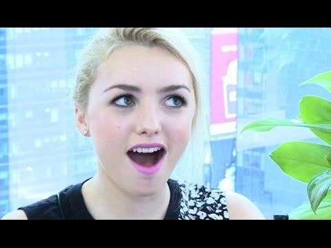 Peyton List Reveals Celebrity Crush & First Kiss - YouTube