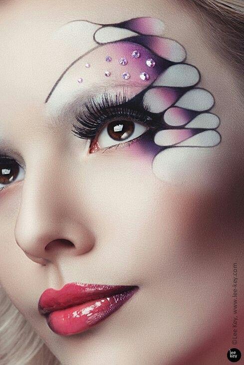 Фантазийный макияж, эскиз Наталья Мороз