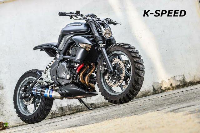 """K -Gun"" Kawasaki ER6n by K-Speed"