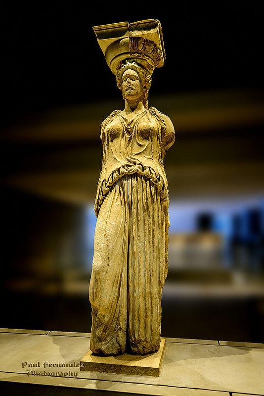 Caryatid at the Acropolis Museum